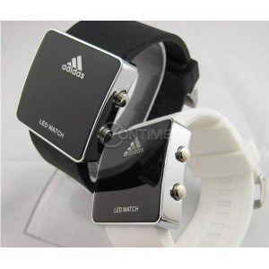 LED часовник Adidas - реплика, унисекс