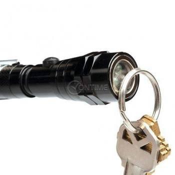 Телескопично LED фенерче с гъвкава магнитна глава за трудно достъпни места