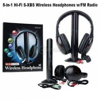 Безжични слушалки 5 в 1