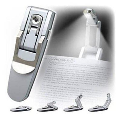 Мини лампа за четене с LED осветление