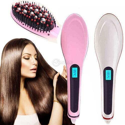Професионална електрическа четка за изправяне на коса