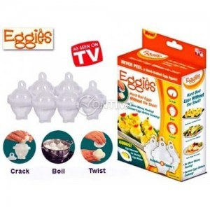 EGGIES форми за варене на яйца без черупки