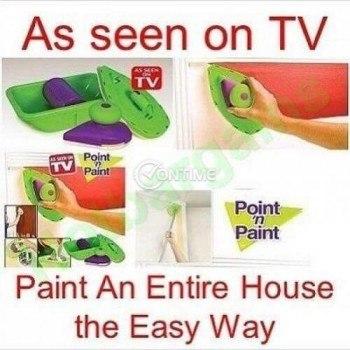 Валяк за боядисване и перфектно отсичане Point and Paint