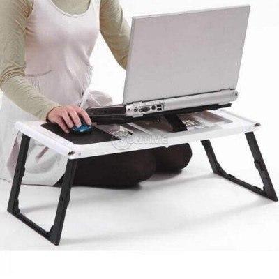 Маса за лаптоп с вграден охладител Super Table