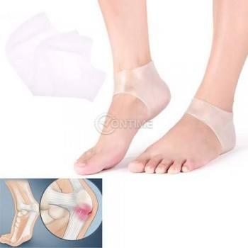 Силиконови чорапи за пета за по-голям комфорт при движение и против пришки