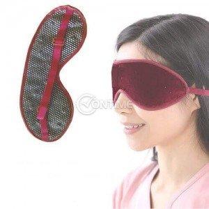 Маска за очи от турмалин против мигрена и главоболие