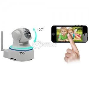 Бебефон с камера FULLHD IP 355 градуса и нощно виждане