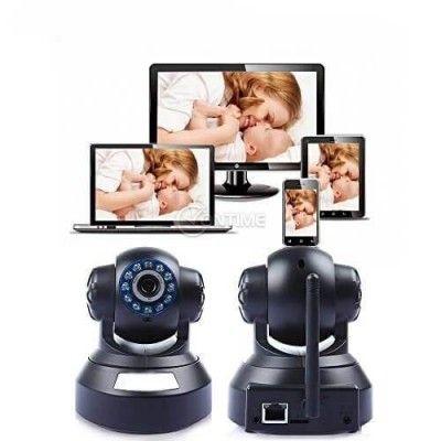 Видео бебефон с HD IP камера с инфрачервена светлина