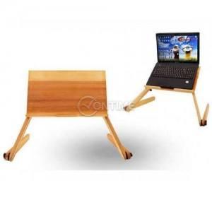 Маса за лаптоп от дърво