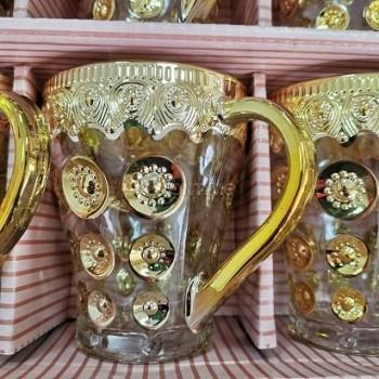 Сервиз за чай и кафе Голди,12 части