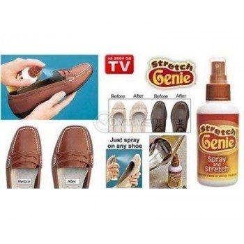 Край на болката от тесните обувки със спрей Stretch Genie