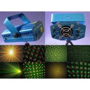 Ефектен диско лазер