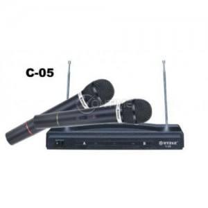Безжични микрофони - 2 бр. с приемник