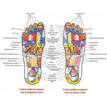Рефлексотерапия с масажиращи чехли Foot Reflex