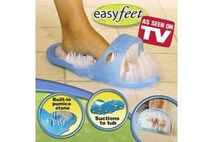 Easy Feet чехъл за почистване и масажиране на краката в банята