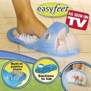 Easy Feet чехли за почистване и масажиране на краката в банята