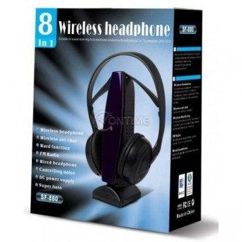 Безжични слушалки 8 в 1