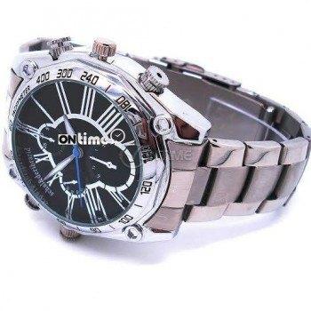 Камера в ръчен часовник с метална верижка