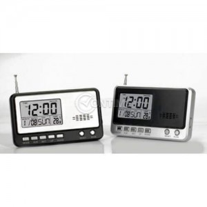 Мултифункционално радио с часовник и термометър
