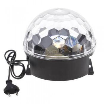 LED лампа-кълбо с вградени тонколонки - LED Magic Ball Light