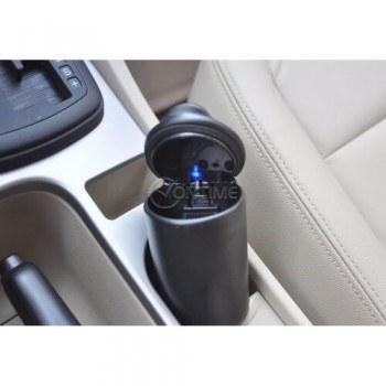 Пепелник за кола с LED осветление