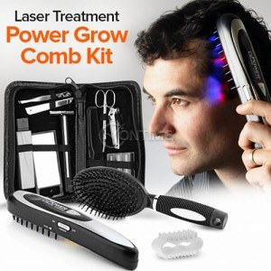 Лазерна четка за стимулиране растежа на косата Power Grow Comb