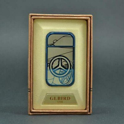 Стилна usb запалка ветроустойчива с лого на AUDI, BMW, MERCEDES или VW