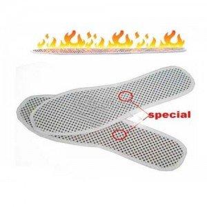 Турмалинови стелки за обувки за хора със студени крака