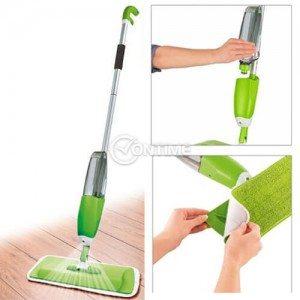 Моп за почистване на под със спрей