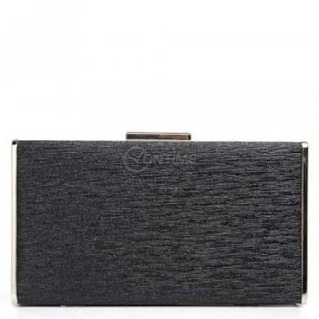 Официална черна чанта тип клъч