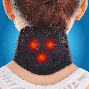 Турмалинова яка за врат с магнити при болки във врата и схващания