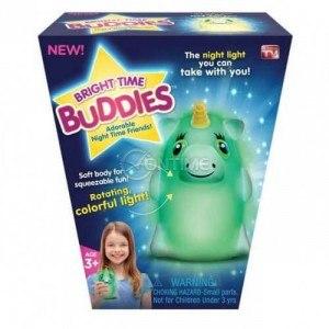 Успокояваща нощна лампа за деца Bright Time Buddies
