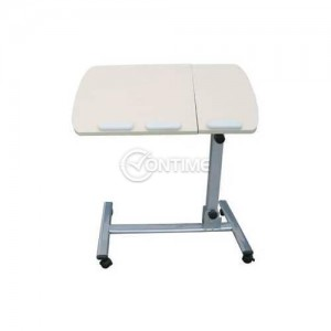 Сгъваема маса за лаптоп с колелца подходяща за легло и диван
