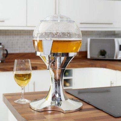 Диспенсър за охлаждане на бира и други напитки във форма на балон