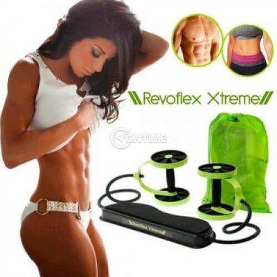 Домашен фитнес уред за стягане на цялото тяло Revoflex Xtreme