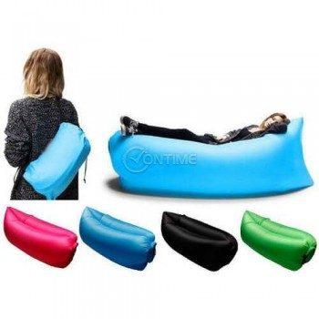 Надуваемо легло Lazy Bag