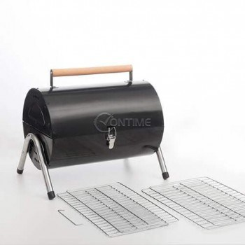 Градинско барбекю на въглища BBQ CLASSICS с цилиндрична форма