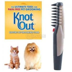 Електрически гребен за куче Knot Out