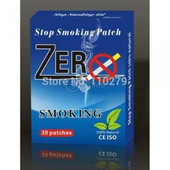 Никотинови лепенки за отказване на цигари ZERO SMOKE