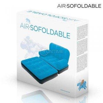 Надуваем фотьойл - легло Air Sofoldable