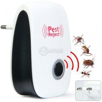 Уред за прогонване на мишки инсекти и хлебарки Pest Reject