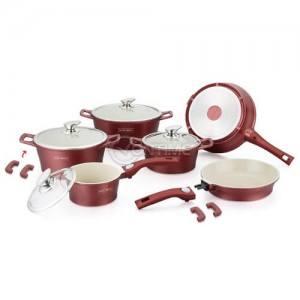 Royalty Line комплект диамантени тенджери и тигани за готвене