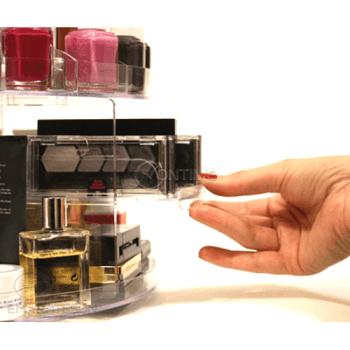Органайзер за гримове Glam Caddy с въртящ механизъм