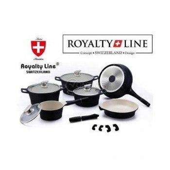 Съдове за готвене комплект 14 части от мрамор Royalty Line