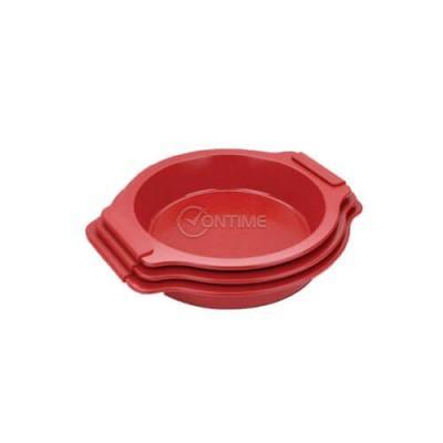 Тави за печене с керамично и мраморно покритие Royalty Line в червен цвят