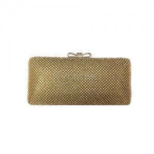 Малка златна чанта с камъни