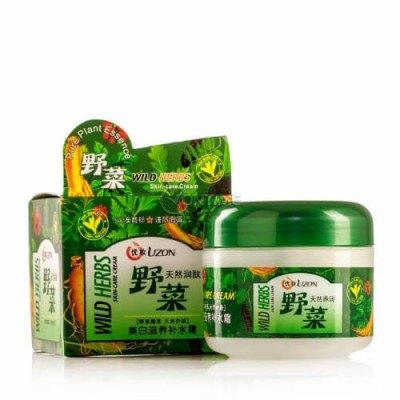 Крем против бръчки с растителни екстракти