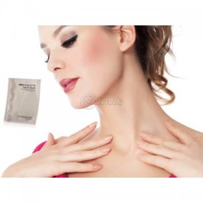 Mаска против бръчки за шия с колаген и витамин C