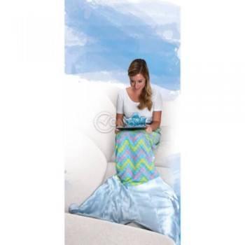Меко одеяло във формата на русалка Snuggie Tail