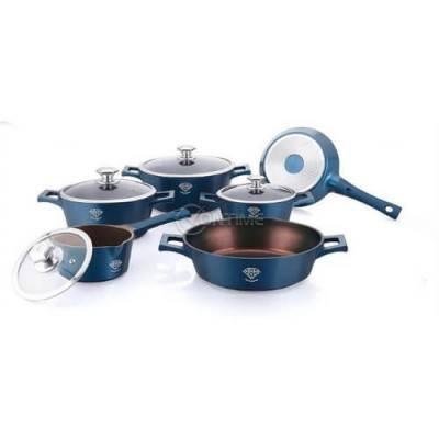 Royalty Line комплект съдове за готвене с диамантено покритие от 14 части